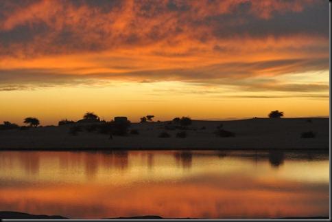 10d. Sunset near Timbuktu
