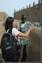 2b. Guide, Amadou explains about history