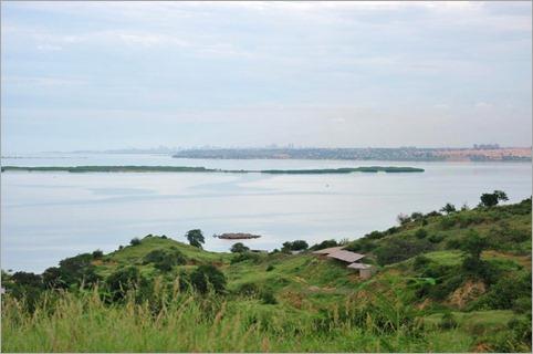 1b. Developed Luanda, president's development on far right