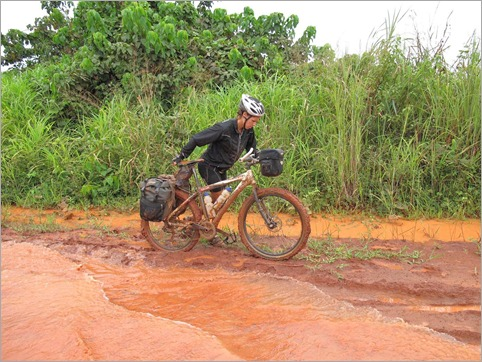 2b. Shocking conditions on the ROC's main road to Brazzaville