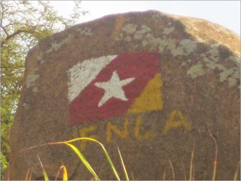 5c. National Front for the Liberation of Angola flag, near Z'neto