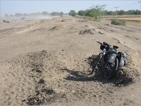 2a. Dikwa to Ngala typical road