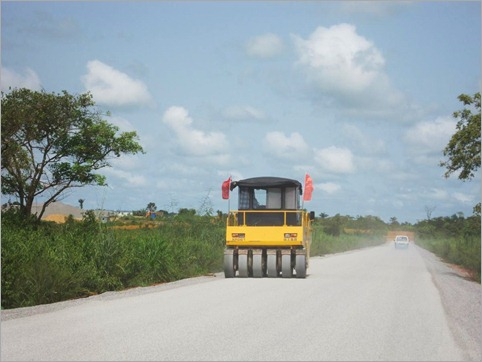 3a. Chinese road building, 45km from Mbanza Congo